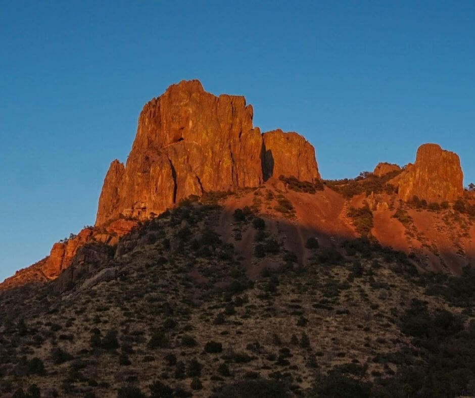 Chisos Mountains in Texas
