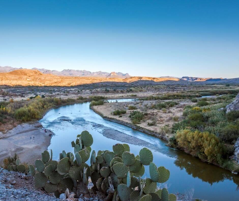 Rio Grande roadtrip Texas