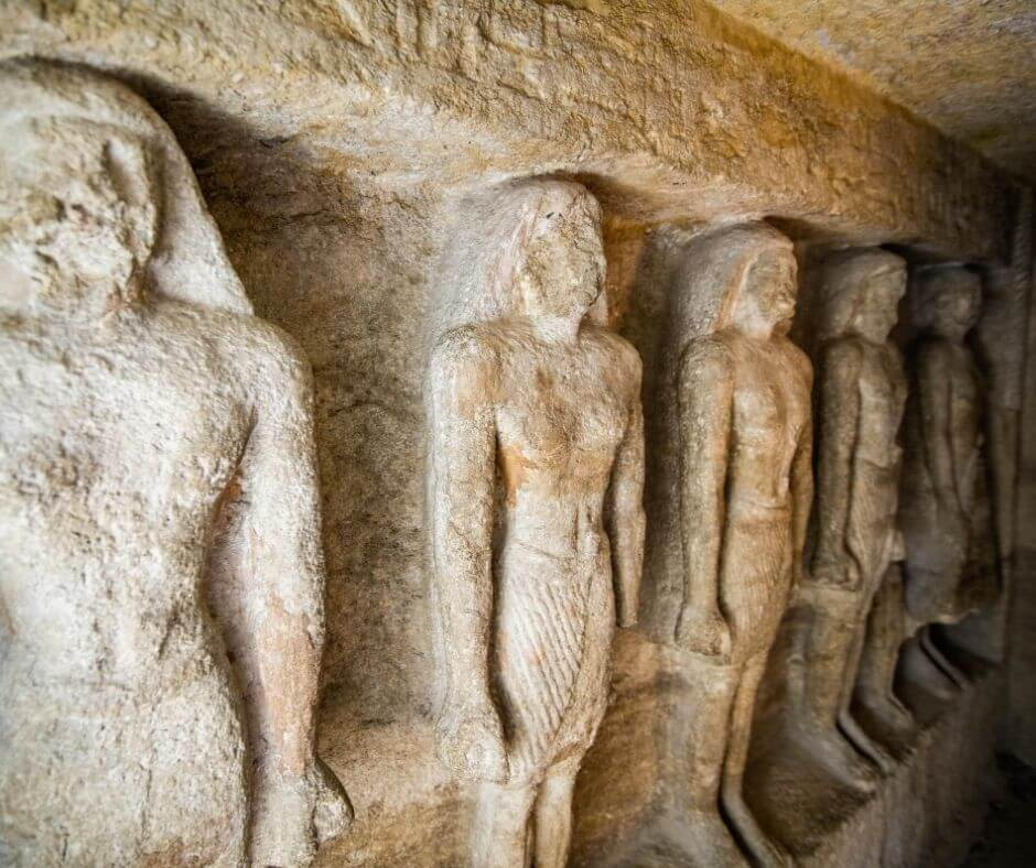 Inside giza complex-Pyramids-Egypt
