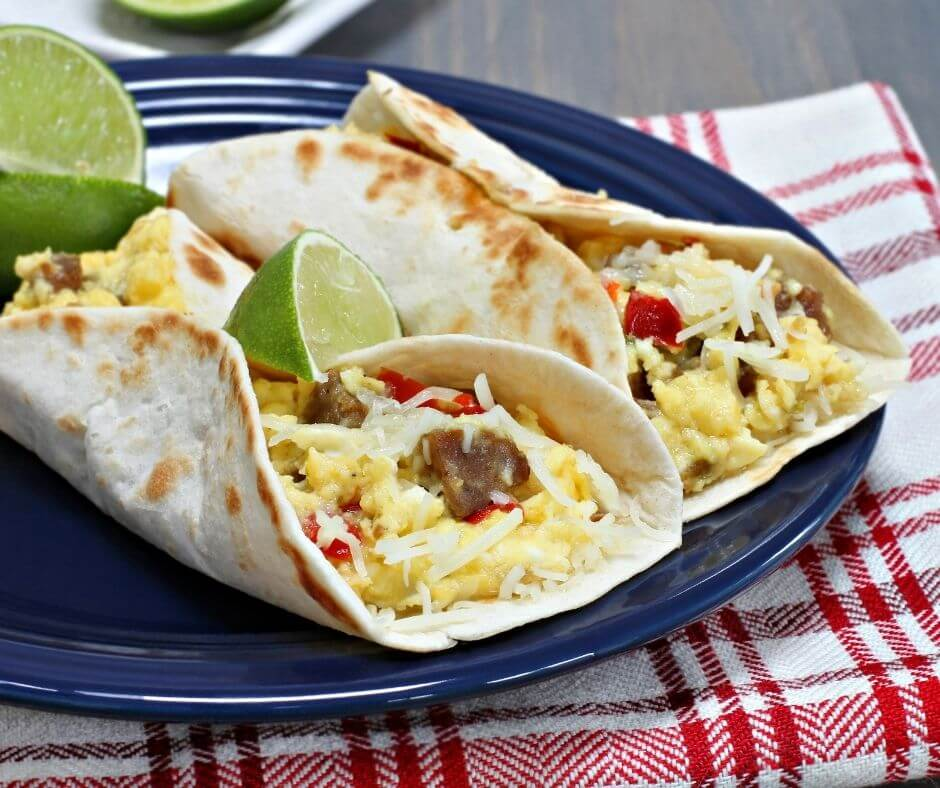 Breakfast Tacos in Texas