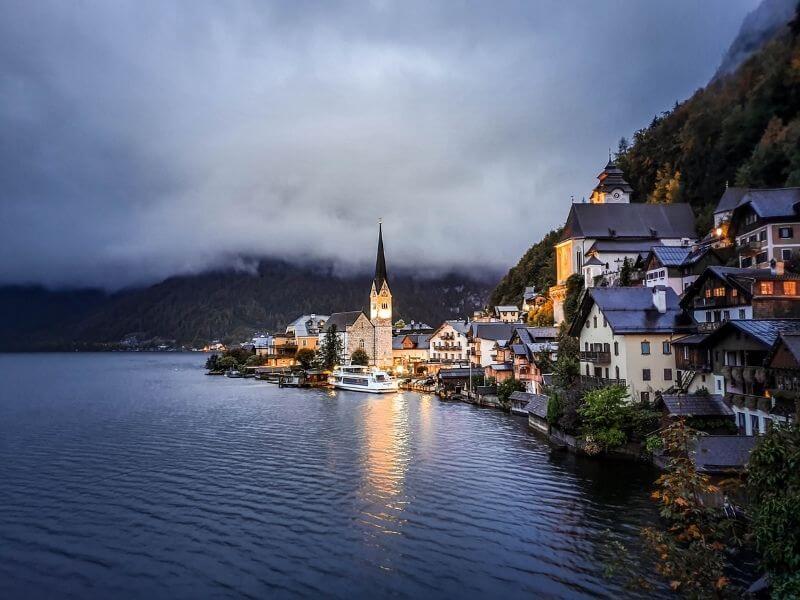 Halstatt Austria Alps-road-trip