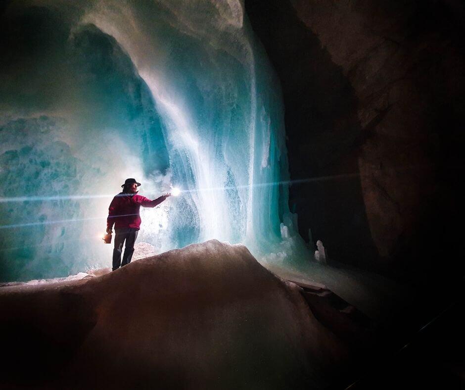 Eisriesenwelt in Werfen - Cave of ice in Austria