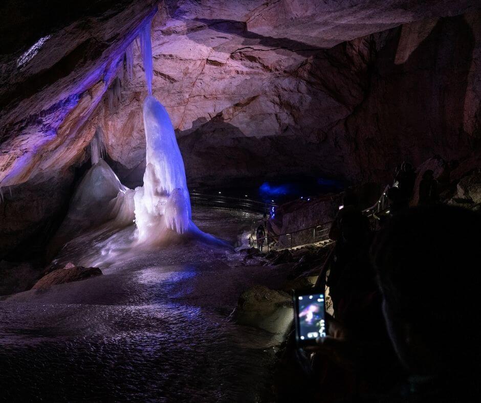 Austria-ice-cave - Tour in Dachstein