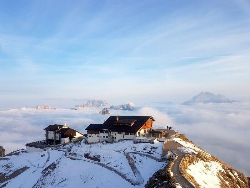 rifugio lagazuoi dolomites road trip alps