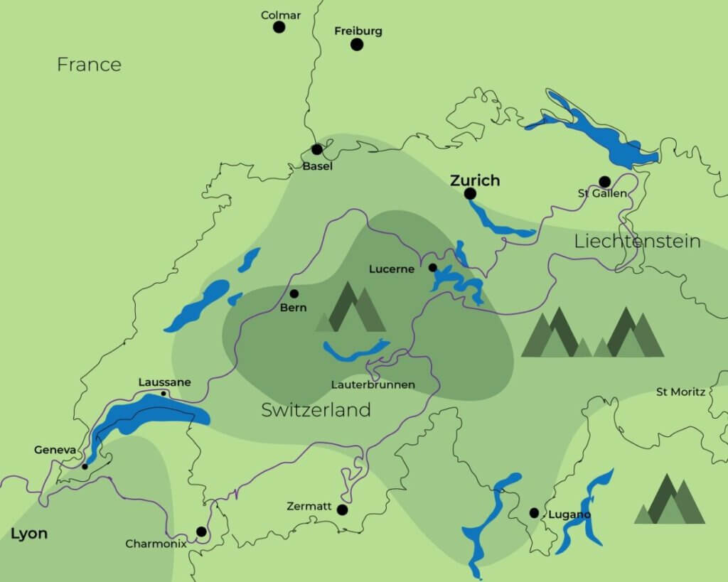 10 days in the western  Alps