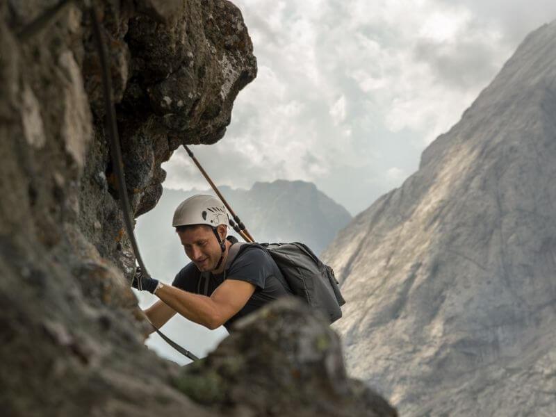 Ferratas in the Dolomites