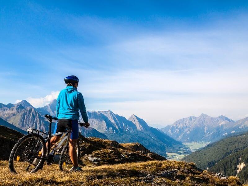outdoor activities dolomites - Cycling