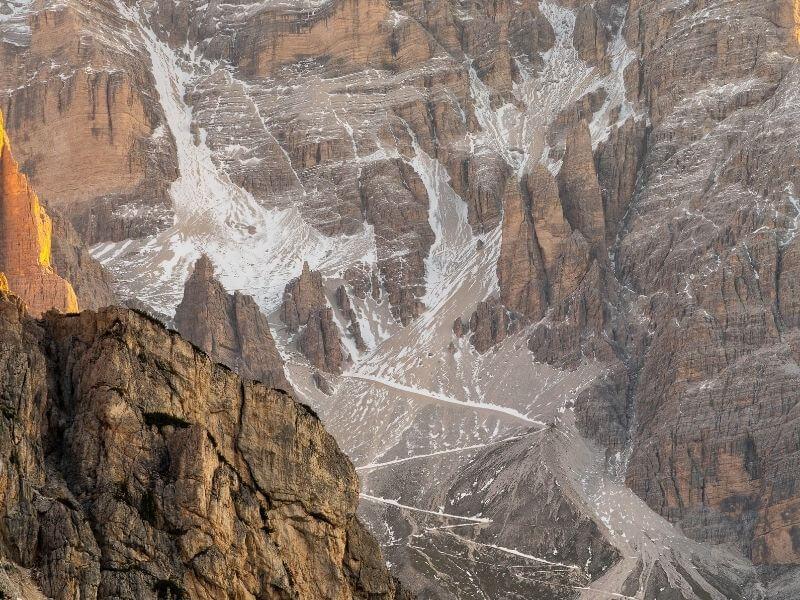 Hiking routes Cortina-Dolomiti-Ultra-Trekking