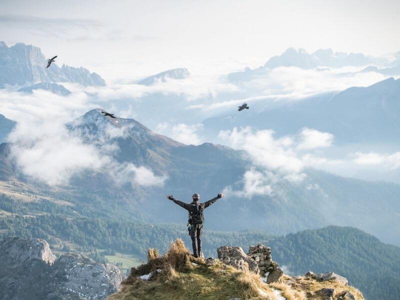 rock climbing dolomites - outdoor activities