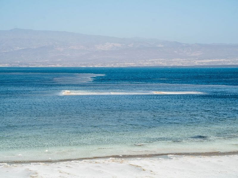 view of Lac Assal