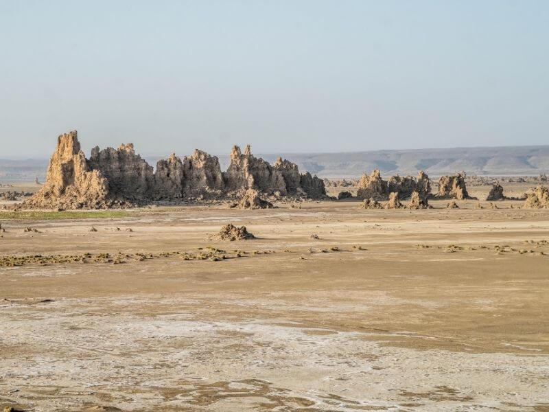 Chimneys of Lac Abbe - Visit Djibouti City