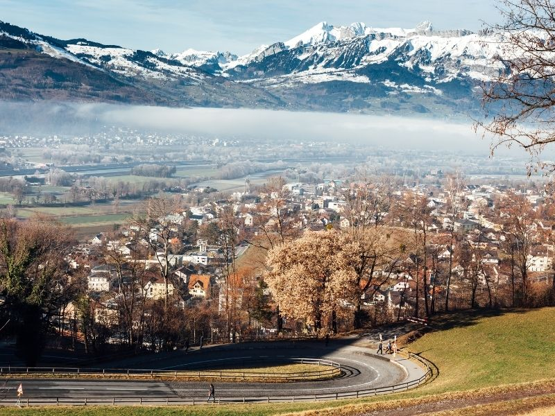 The Liechtenstein Trail:   Hiking across the world's sixth-smallest nation