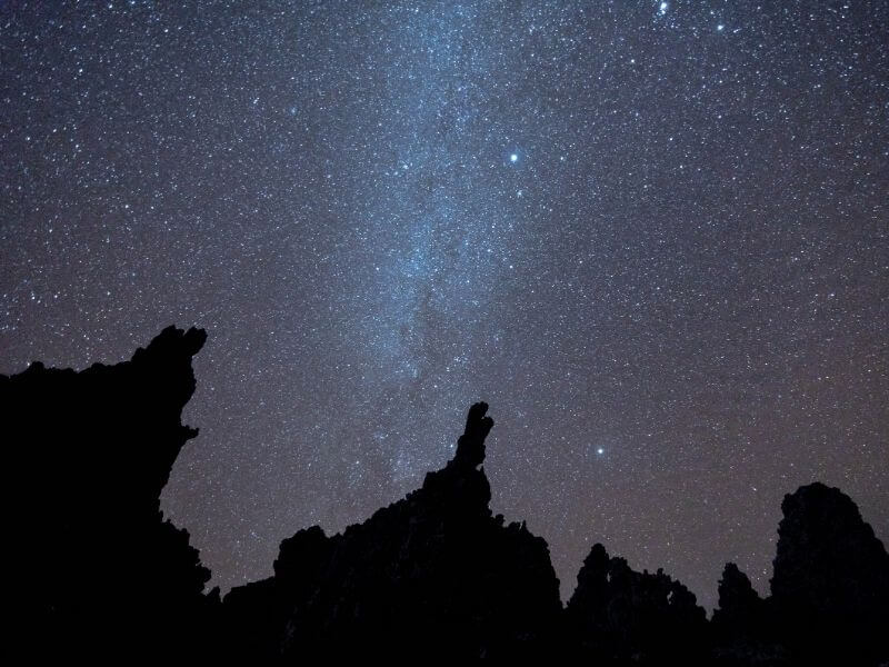 Stargazing in Lac Abbe - Night photography