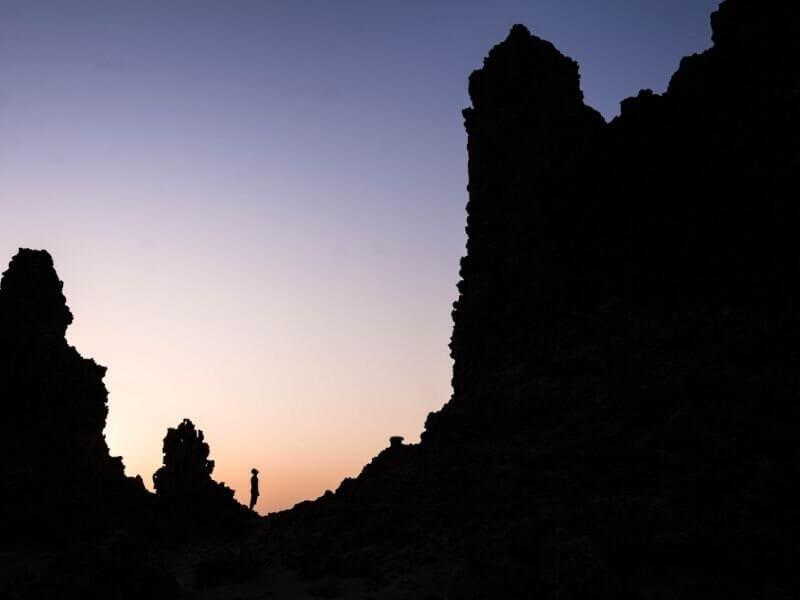 Chimney in Lac Abbé Djibouti