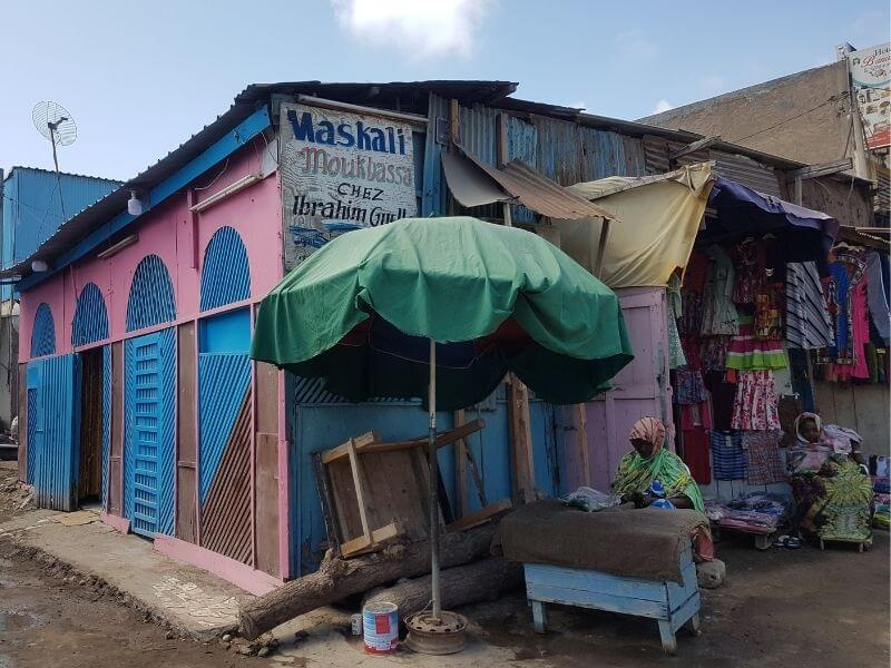 restaurants at the African Quarter in Djibouti CIty