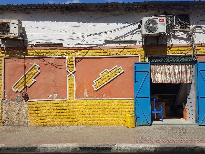 colorful streets in Djibouti City - things to do in Djibouti City