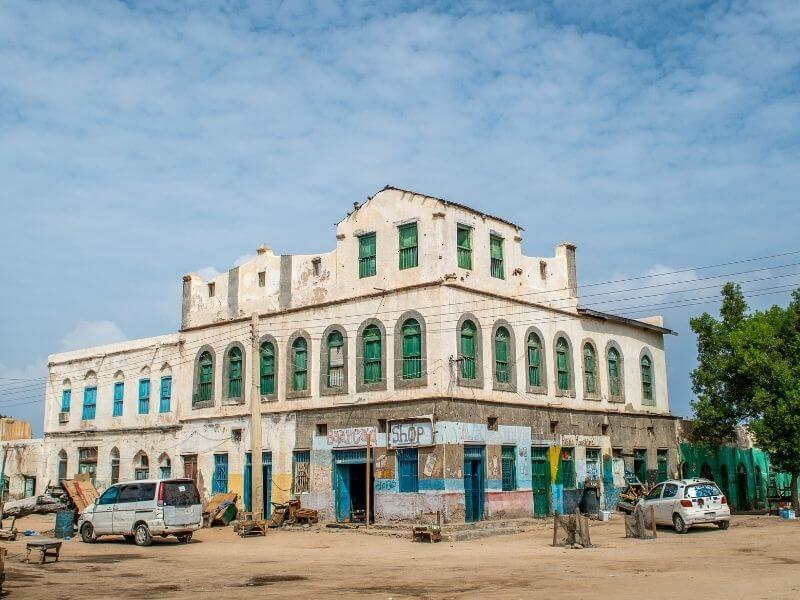 Former BBC office in Berbera - Somaliland