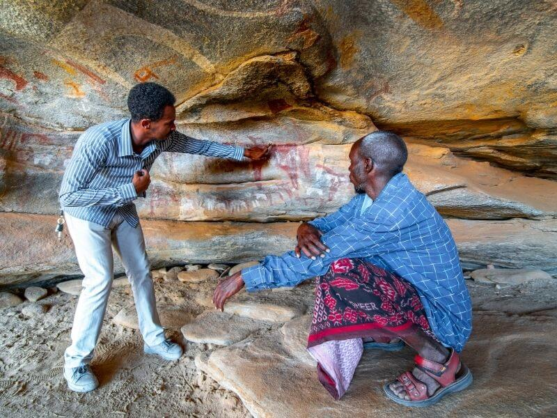 Laas Geel tour in Somaliland