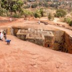 Lalibela St George rock church Ethiopia