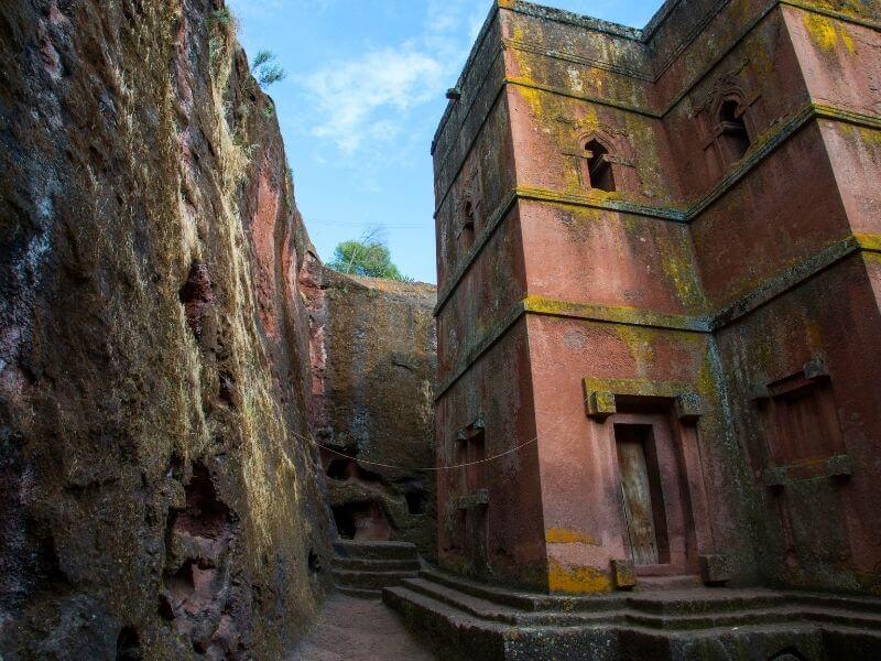 Ethiopia's rock churches - St George Church in Lalibela