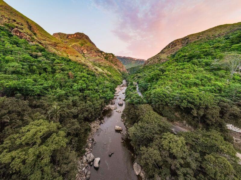 Melgar surrounding Landscape - Melgar-river-colombia