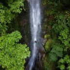 rappeling waterfalls Colombia Melgar