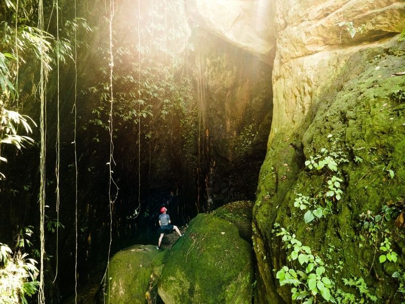 Unexplored places in South-America
