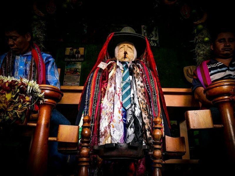Maximon body in Santiago Atitlan