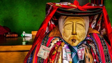 Meet the Guatemalan god living in a wooden body