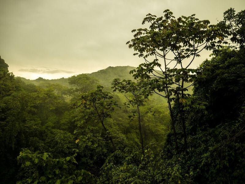 Landscapes in Honduras are still untouched