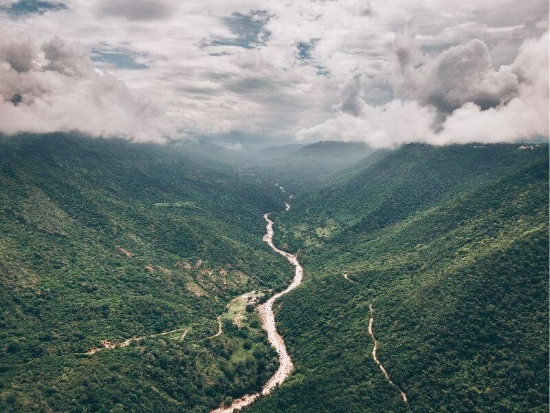 Colombia Landscapes are very similar to subsaharan landscapes