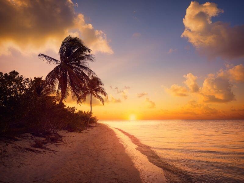 Sunset at Isla Holbox - Road Trip in Yucatan