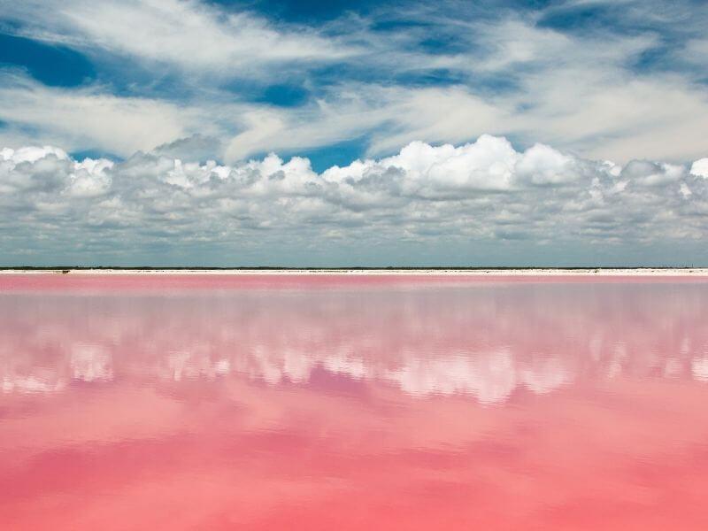 Las Coloradas in Yucatan