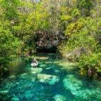 Road Trip in Yucatan - Kayak Cenote Kantun Chi