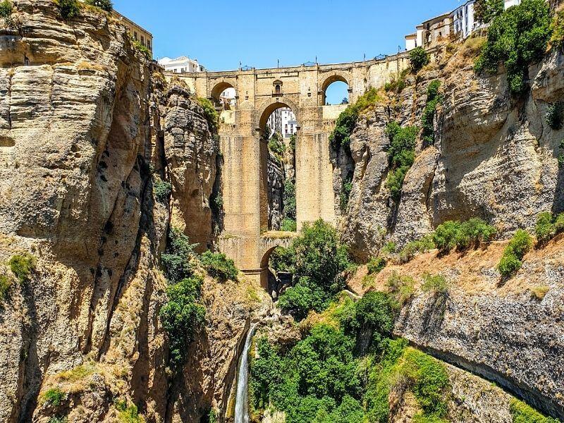 Ronda's famous bridge