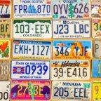 Collect car license plates from all over the world