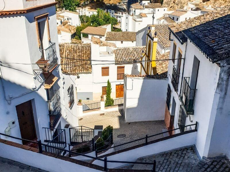 Streets at Setenil de las Bodegas