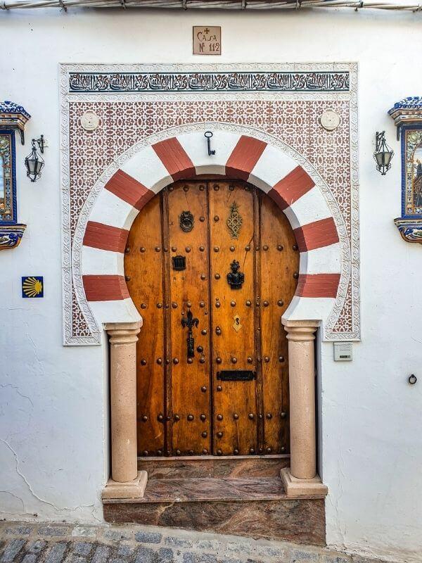 door in Andalucia - pueblos blancos