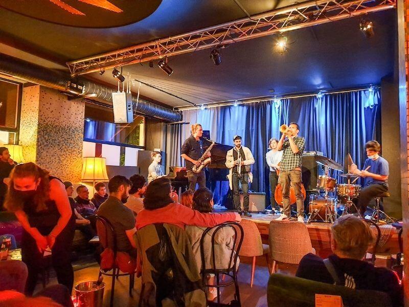 Jam Session at Zig Zag Club in Berlin
