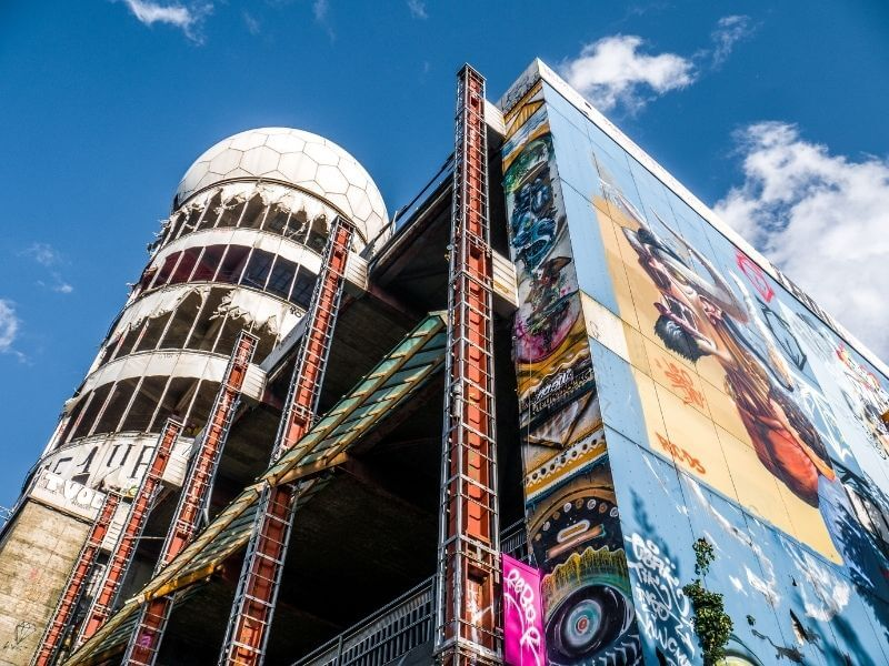 Teufelsberg is an example of what street art can become